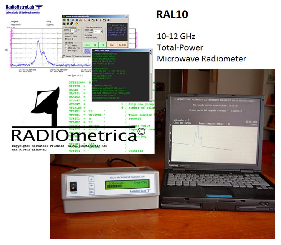 Il primo ricevitore radioastronomico RAL10