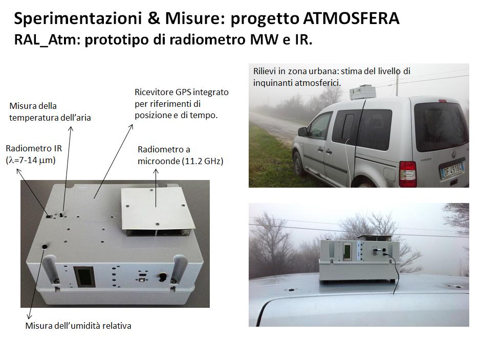 Progetto atmosfera controllo qualità aria
