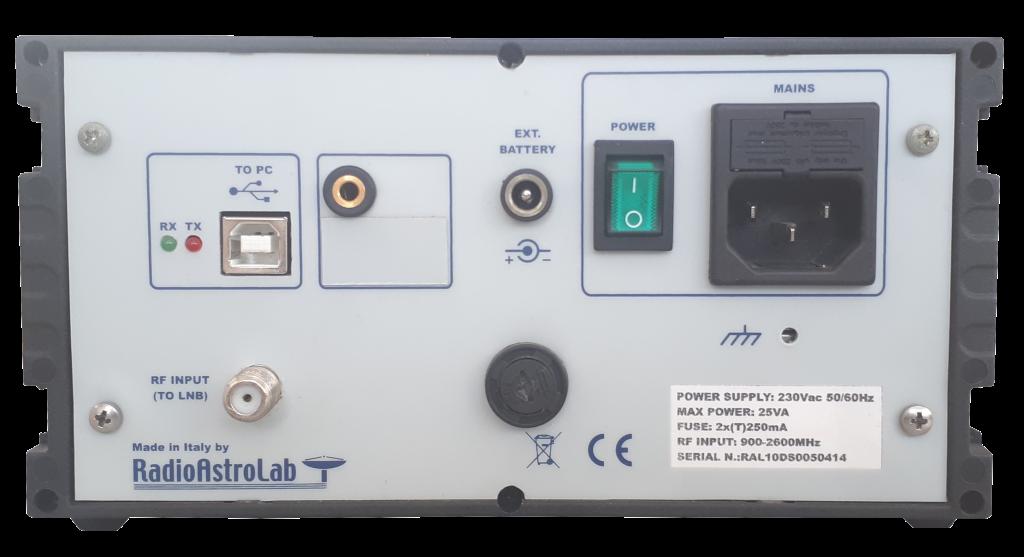 ricevitore a microonde termostabilizzato RAL10TS